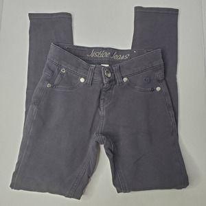 Justice Black Jeans S 7